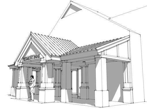 Piedmont Bank Exterior Renovation